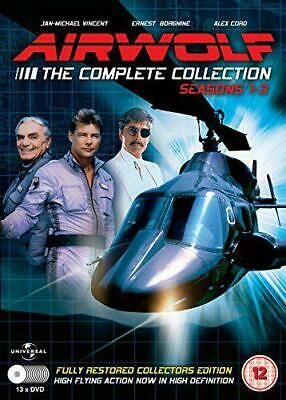 Airwolf - The Complete Collection: Stagioni 1-3 - 13 DVD Set [DVD ],Nuovo,Senza