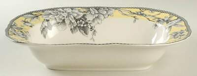 "222 Fifth ADELAIDE-YELLOW 11"" Oval Vegetable Bowl 9437402"