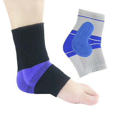 Unisex Silicone Sports Running Anti-sprain Anti-squat Foot Ankle Protector/Guard