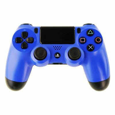 Sony - Dualshock 4 Sans-Fil Manette de Jeu pour Sony Playstation 4 - Bleu Vague