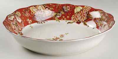 222 Fifth GABRIELLE Red Pasta Serving Bowl 8784857
