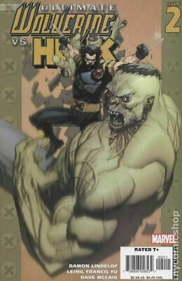 Ultimate Wolverine vs. Hulk #2A 2006 Yu Variant NM Stock Image