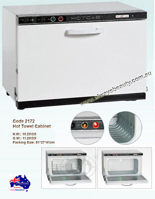 Hot Towel Cabinet Warmer With UV Sanitizing Metal Cabinet Aussie Sale