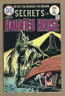 Secrets of Haunted House #1 1975 VG 4.0 Low Grade
