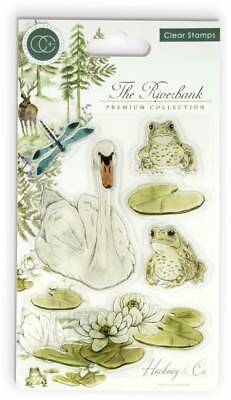 New Craft Consortium 2019 Clear Stamps Riverbank Collection Riverbank