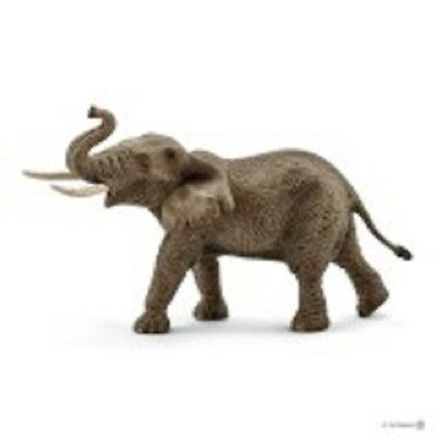 Africano Elefante Macho 14762 Strong Tough Looking Schleich Anywhere's Patio