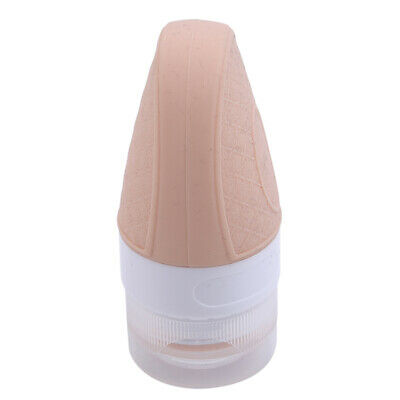 Portable Outdoor Silicone Empty Container Bottle Pot Jars Cosmetic Cream Case BS