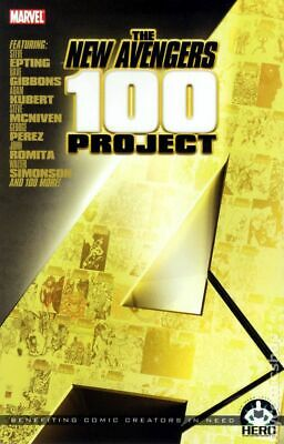 New Avengers 100 Project SC (Hero Initiative) #1-1ST 2011 NM Stock Image