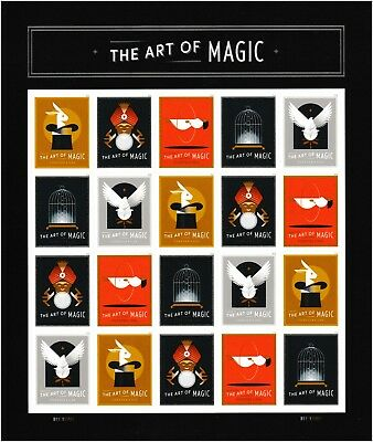 US 5301-5305 5305a The Art of Magic forever sheet MNH 2018