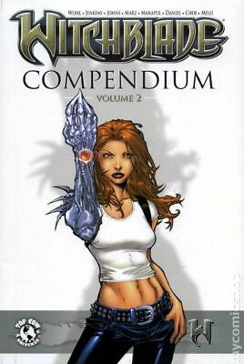 Witchblade Compendium HC (Limited Edition) 2-1ST 2009 NM Stock Image