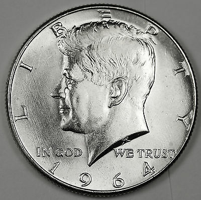 "1964-d/d Kennedy Half. No collection complete without a double ""d"".  Inventory G"