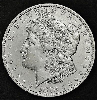 1879-o Morgan Silver Dollar.  High Grade.  100369 (INV)