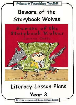 THE STORYBOOK WOLVES Literacy Pack - Year 3 Resource