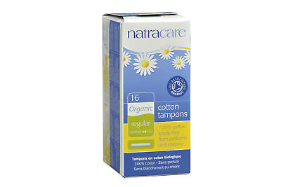 Natracare - Organic Regular Tampons - Applicator Style - 16 count