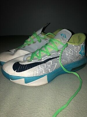 e9e6dbc4d545 Men s Nike Zoom KD 6 Nerf Energy Splatter What The Electric Green Shoes Size  8