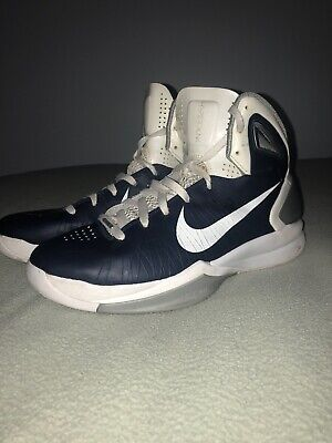 reputable site d234e 42821 Mens Nike Hyperdunk 2010 Basketball Shoes Blue Size 11