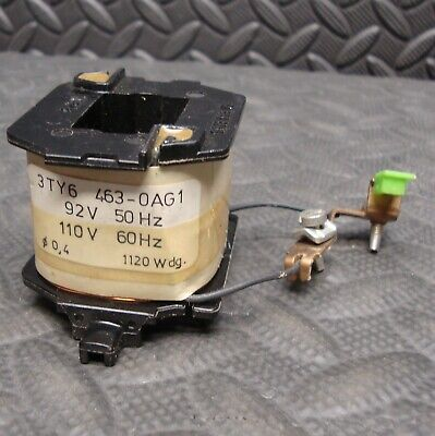 Siemens Coil 3TY6 463 OAG1 92/110 Volt   Used