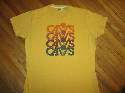 22c5f0e83 HOMAGE BRAND CLEVELAND CAVS CAVALIERS T SHIRT Retro Throwback NBA Basketall  XXL