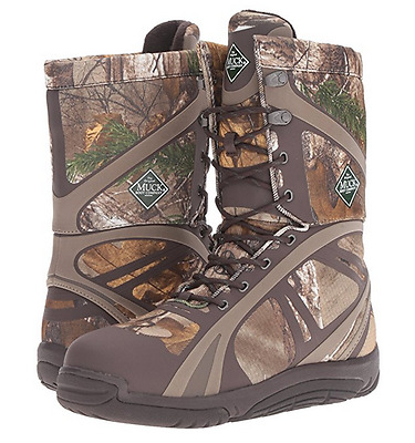 5931ea16d83e5 NEW Muck Boot Men's Pursuit Shadow Lace Mid Hunting Shoes Realtree Size 7 D
