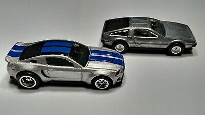 Hot Wheels Loose With Real Riders Need For Speed Mustang Delorean 22 01 Picclick