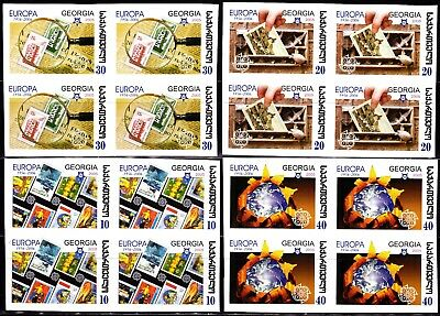 EUROPA CEPT - 2005 - Georgia, Georgien - Block of 4 set (imperf.) ** MNH