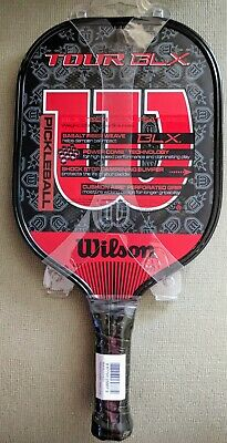 "Wilson BLX Tour Pickleball Paddle Sport Racket Grip 4 1/8"" WRR200500 NEW"