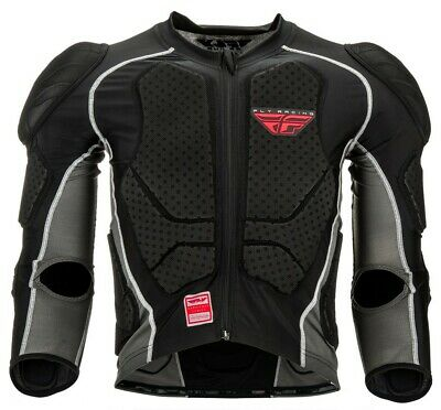 Fly Racing Barricade Youth MX Offroad Long Sleeve Suit Black