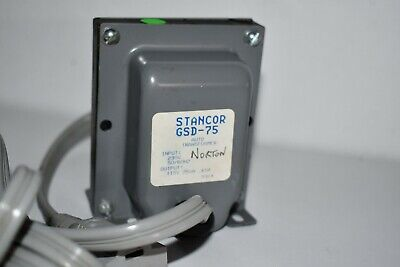 Stancor GSD-75 Step Down Transformer 230-115 Volt Europe Plug (75VA)