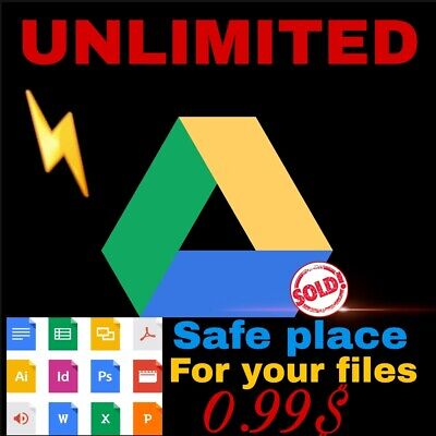 Unlimited Google Drive For Lifetime On Existing Acc!Dont Miss It!
