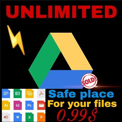 Unlimited google drive last promotion only 0.99 for existing acc dont waste time