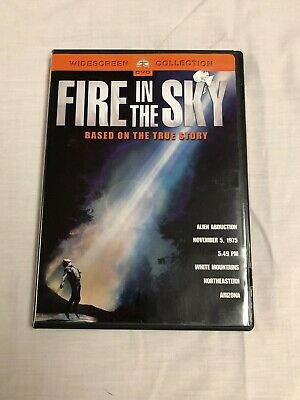 Fire in the Sky-Paramount DVD-OOP/Rare-Mint- D.B. Sweeney-Authentic Region 1 DVD