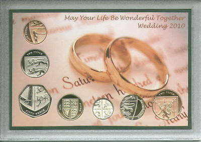 Married in 2010 (Ideal Unusual 9th Wedding Anniversary Present) Coin Gift Set