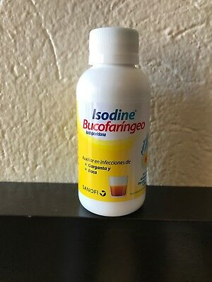 Isodine - Oral Antiseptic Relieves Sore Throat and Mouth Infections