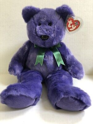 TY EMPLOYEE THE BEAR BEANIE BUDDIES - MINT with MINT TAGS 2000 ... e8aa05fd31ec