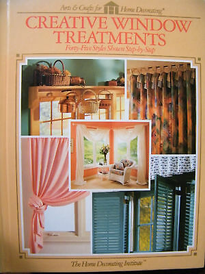 Creative Window Treatments 45 Styles Shown Step By Step