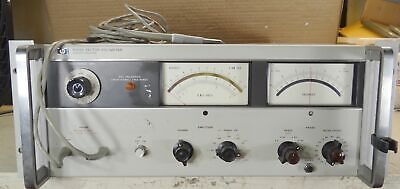 HP 8405A Vector Voltmeter 1 - 1000 MHz For Parts/Repair