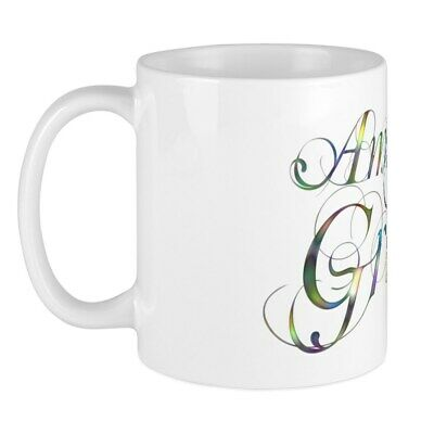 CafePress Amazing Grace Mug 11 oz Ceramic Mug (1062974248)