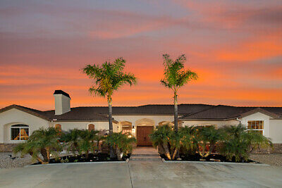 Lg Executive Home for Sale in Temecula California 92590 wine country on 5 acres
