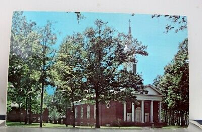 VINTAGE POSTCARD NEW Church Westfield VT Orleans County