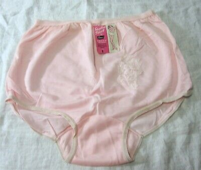 2817fab4f Camco Vintage 1960s Size 6 Pink Panties Shantung Tricot Lace Applique with  Tag