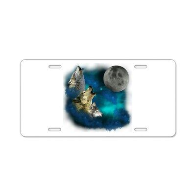 Aluminum License Plate Front License Plate CafePress Wolf Decor Aluminum License Plate Vanity Tag
