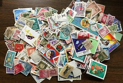 [Lot E] 1,000 Worldwide Stamps, Off Paper, Great Selection! Good Variety!
