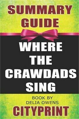 Summary Guide Where the Crawdads Sing Book by Delia Owens (Paperback or Softback