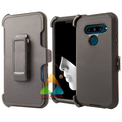 hot sale online 44f70 c426b FOR LG V40 ThinQ Case (Clip fits Otterbox Defender) B03 Holster Skin ...