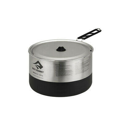 Sea To Summit Sigma 3.7 Litre Stainless Steel Pot - Grey