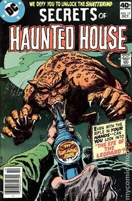 Secrets of Haunted House #17 1979 VG/FN 5.0 Stock Image Low Grade