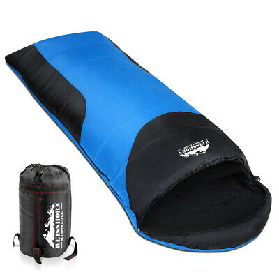 Weisshorn Single Thermal Envelope Sleeping Bags For Outdoor Hiking Camping Party