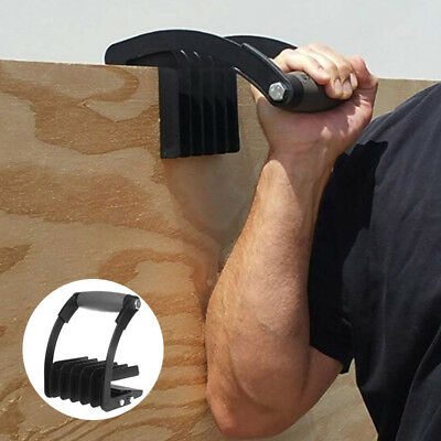 Gorilla Gripper Panel Plywood Drywall Sheetrock Carrier Carry Handle Tool Black