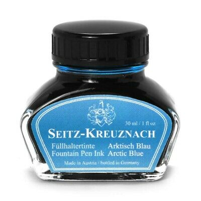 Seitz-Kreuznach Tinte Arktisch Blau, 30ml, Colors of Nature