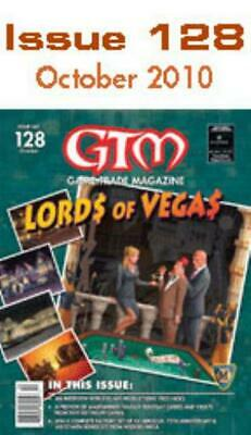 """Alliance Game Trade M #128 """"Lords of Vegas, Warhammer Fantasy Roleplay Mag MINT"""
